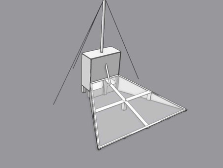 Building the Solar Dryer from Afar