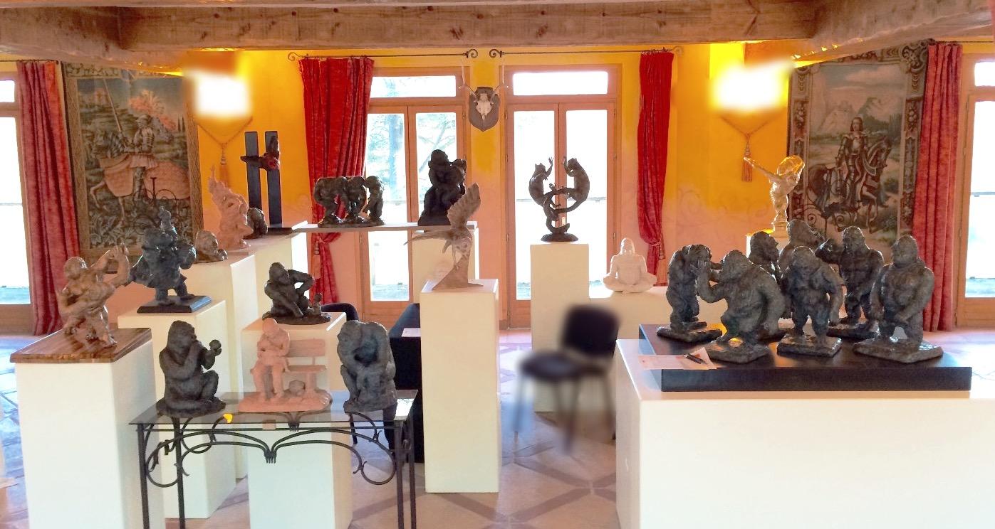 expo permanente au Bois d'Aucourt