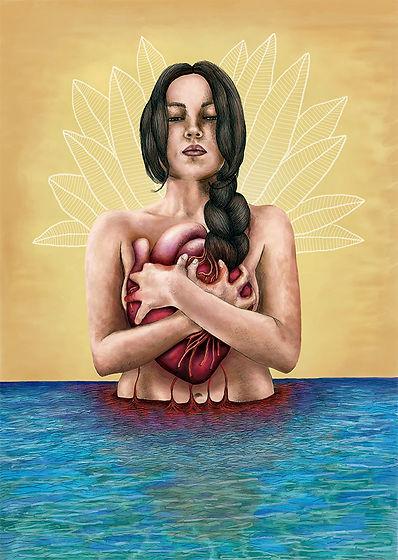 corazon_de_mujer_ilustracion_diseño_laur