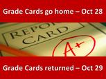 Grade Cards