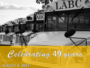 Celebrating 49 years of our Bus Ministry