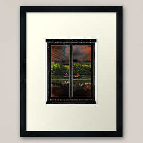 Water Electricity And Urgency Framed Art Print