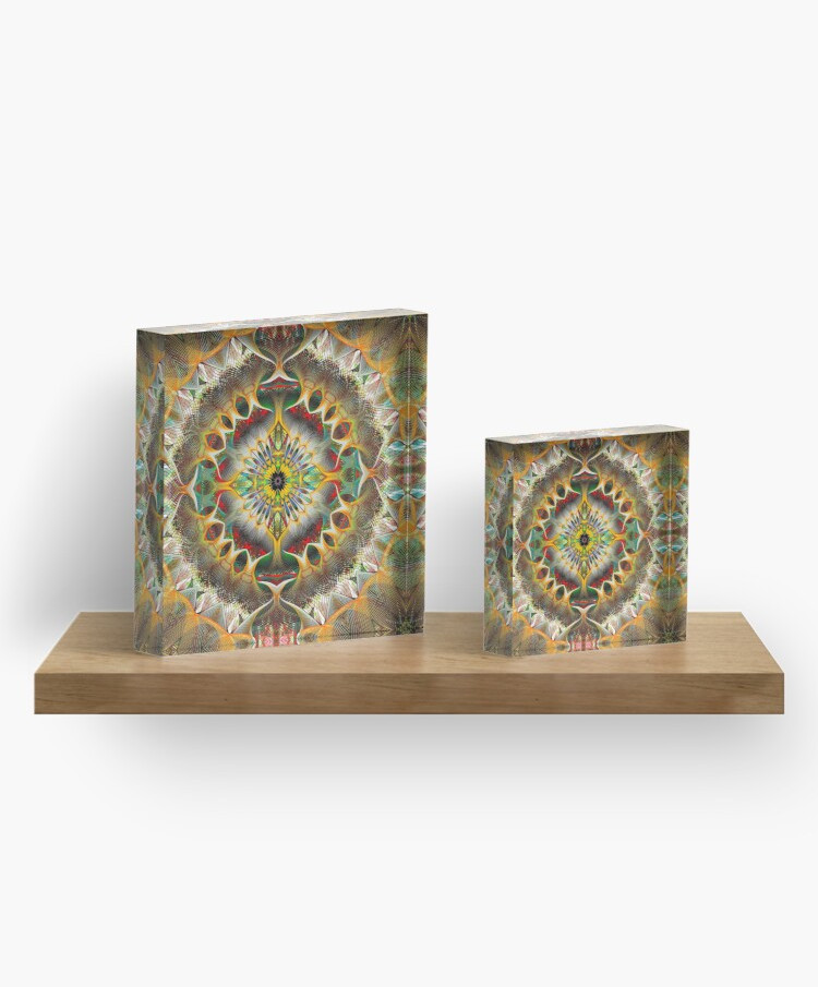 Whither Wander You Acrylic Block