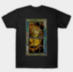 Window On A Golden Path T-Shirt