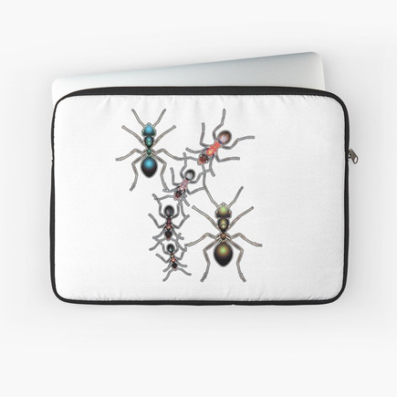 Ant Selection Laptop Sleeve