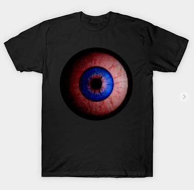 Pink Eyeball Jewel T-Shirt