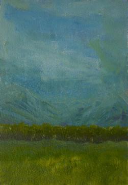 Blue Mountains Green Treeline