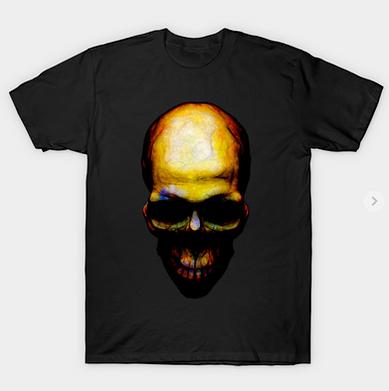 Dark Mood Skull T-Shirt