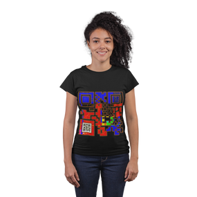 Confidence QR Code T-Shirt