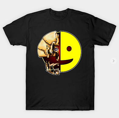 The Not Happy Face T-Shirt