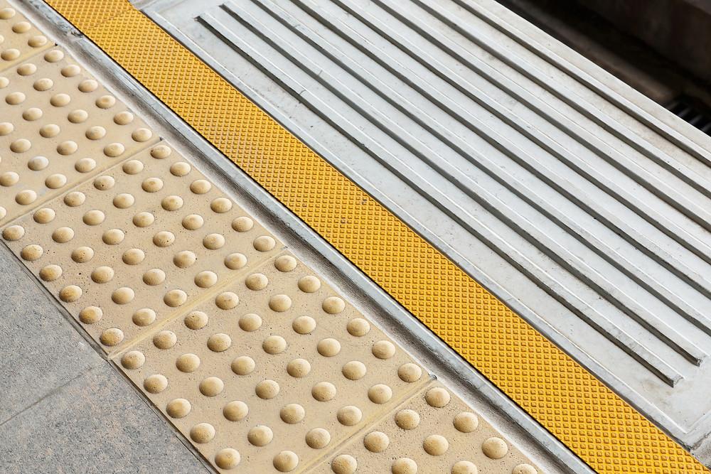 Tactile Paving (c) 7th Son Studio, Shutterstock