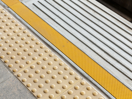 The Secret Language of Tactile Paving