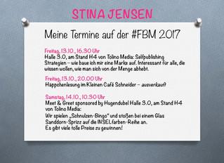 Meine Termine auf der Frankfurter Buchmesse