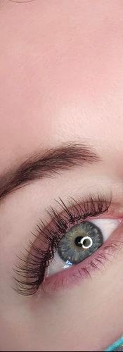 Blended Eyelash Extensions