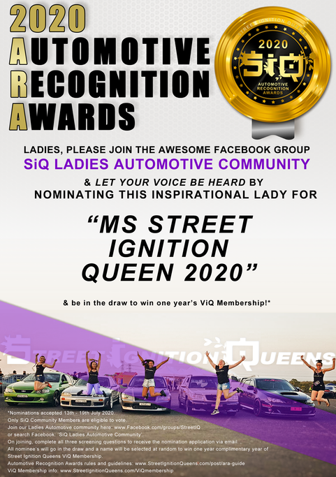 MS STREET IGNITION QUEEN 2020