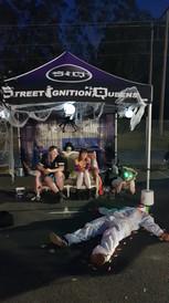 Street Ignition Queens, Showoff Saturdays, Blacklist Events, Halloween Car Show, Ladies automotive community, car club, halloween car boot ideas