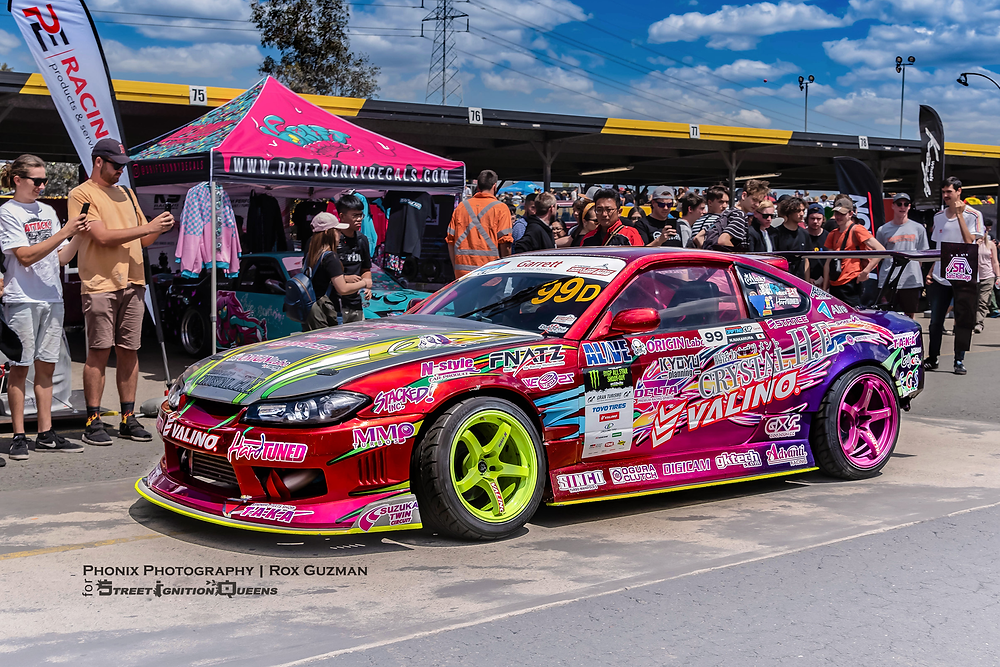 World Time Attack 2019, Street Ignition Queens, Phonix Photography, Drift Bunny Decals, drift car