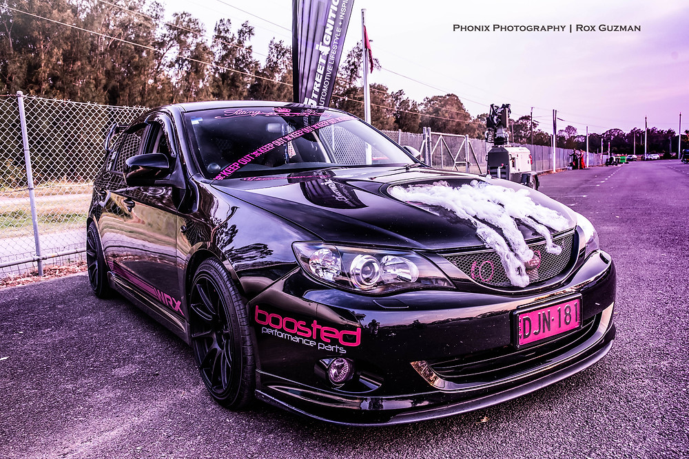 Street Ignition Queens, ladies automotive community, Halloween car show, Halloween car ideas, Subaru WRX hatchback