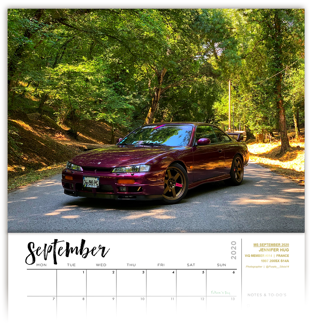 Nissan Silvia, S14, calendar competition, Street Ignition Queens, ladies automotive community, car club, automotive photography, car art, car photographer