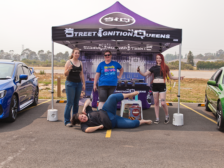 Street Ignition Queens members having fun