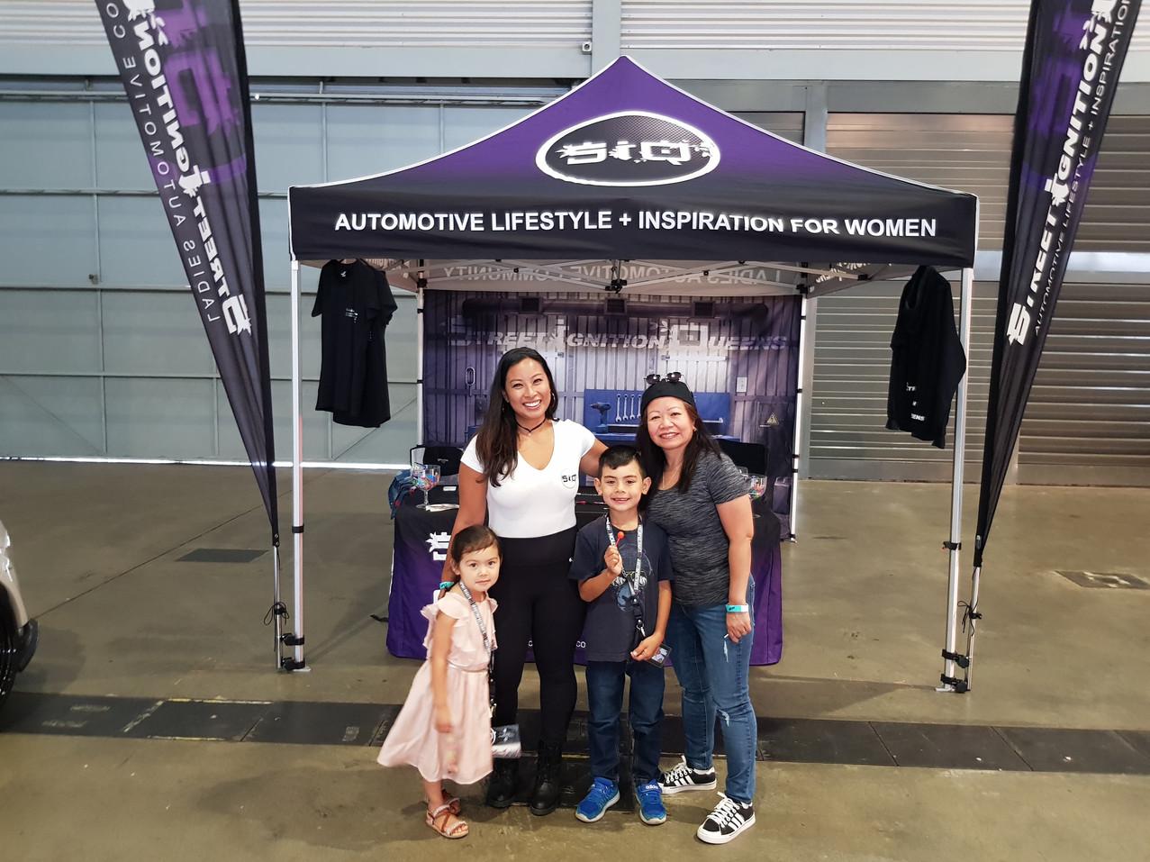 Family friendly, ladies automotive community, Tori Subi, Blacklist, Showoff Saturdays, Street Ignition Queens, car girls, car club