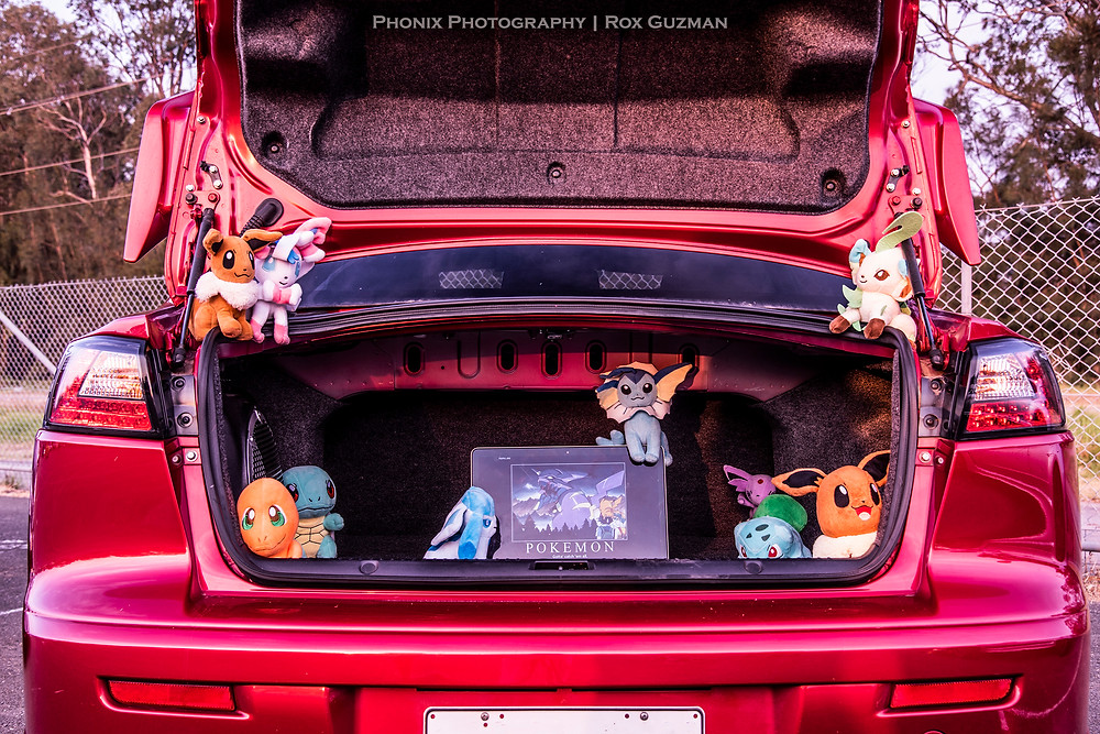 Street Ignition Queens, ladies automotive community, halloween car show, car boot ideas, Pokemon, gotta catch em all