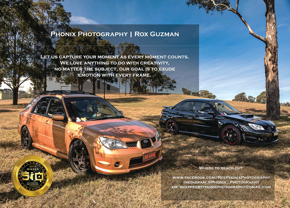 Phonix Photography, Rox Guzman, Street Ignition Queens Best Creative Services Automotive Recognition Awards 2019