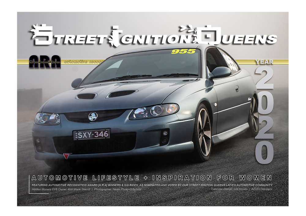 Holden Monaro, CV8, calendar competition, Street Ignition Queens, ladies automotive community, car club, automotive photography, car art, car photographer