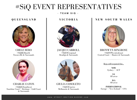 Meet our SiQ Event Representatives 2020