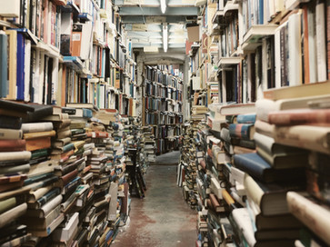 How to manage a pile of...Books!