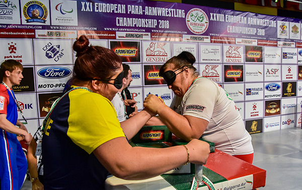 21st European Para-Armwrestling