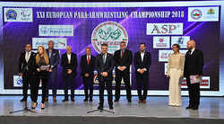 Official opening of the competion