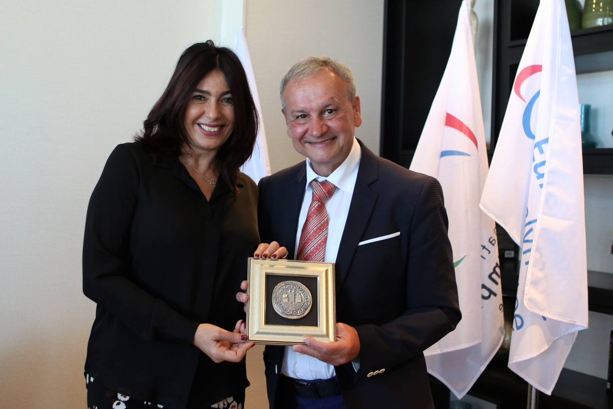 with minister of sport Miri Regev_resize