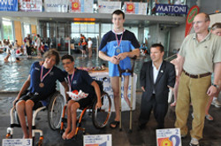 Paralympic Swimming medal awards