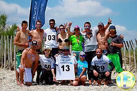 Team kite compétition