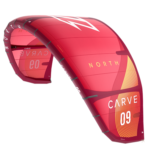 CARVE 2021 SUNSET RED COMPLETE AVEC BARRE A PARTIR DE