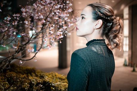 Tokyo street portrait photoshoot