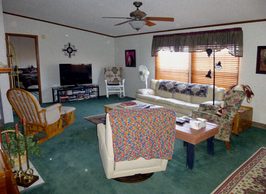Rancho Living Room and TV