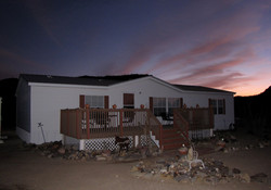Rancho Mula Oso in Twilight