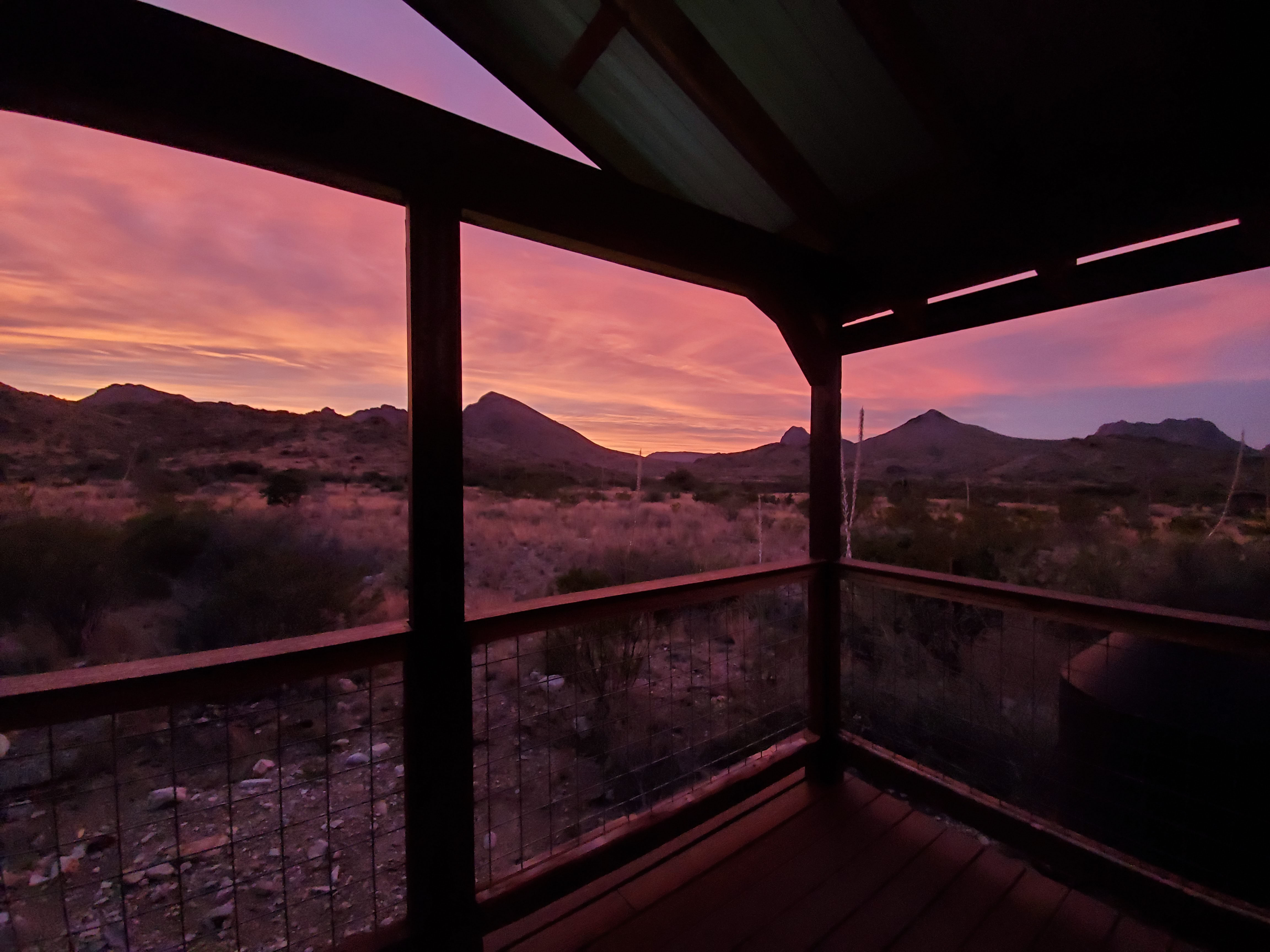 Sunset on the Porch