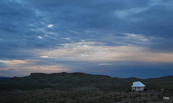 Retreat with southern horizon