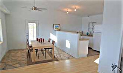 Dining Room & Kitchen at the Getaway