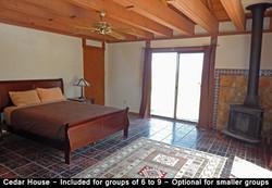 Cedar House - 2BR 1