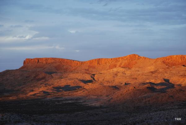 Sunsetting on Nine Point Mesa