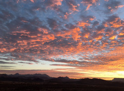 IMG_5163 Sunrise over the Chisos