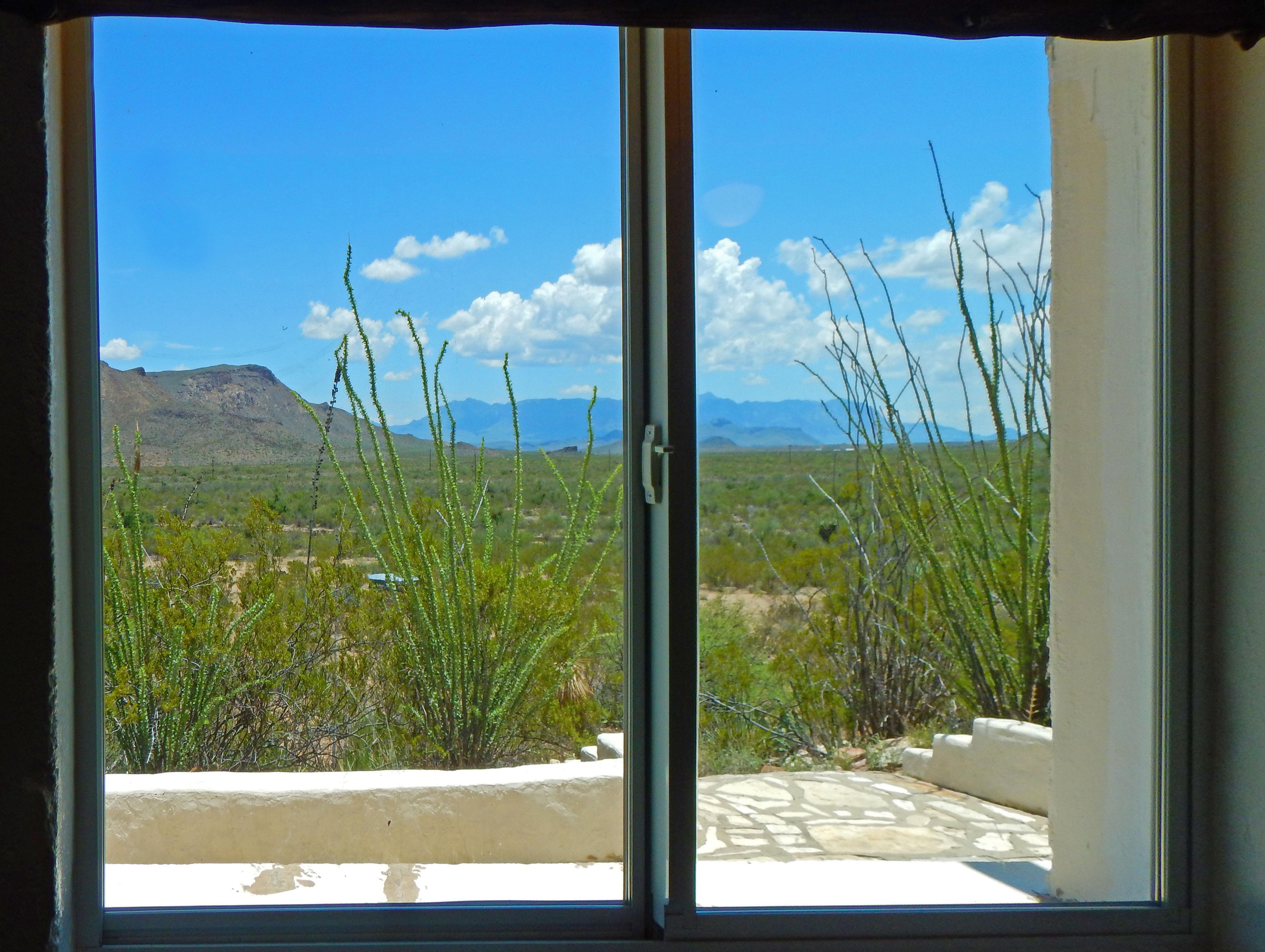 Window Chisos View