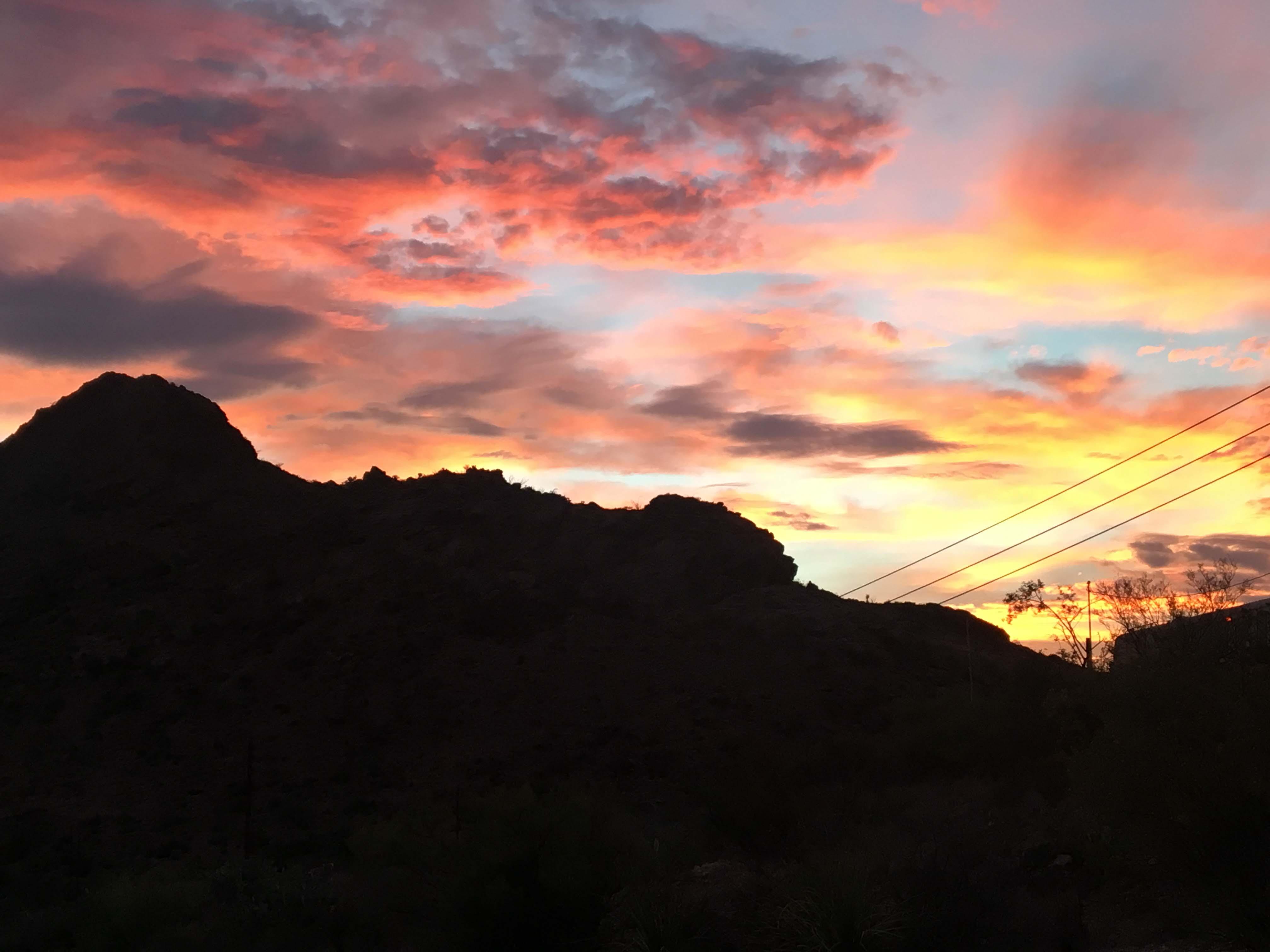 Sunrise Over Mtns