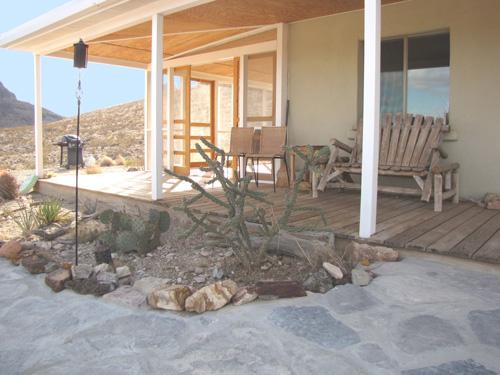 Porches at the Getaway