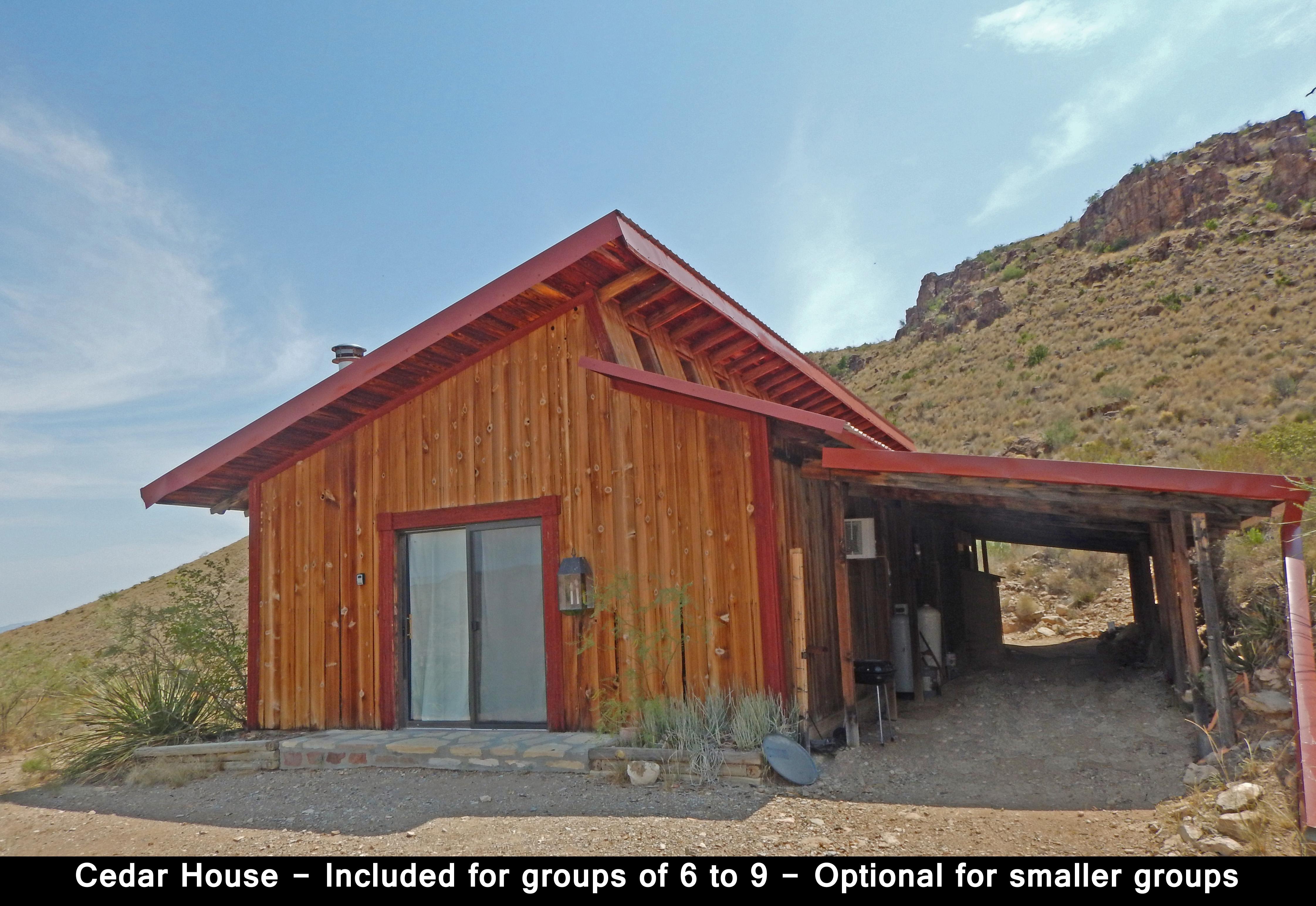 Cedar House - Ext