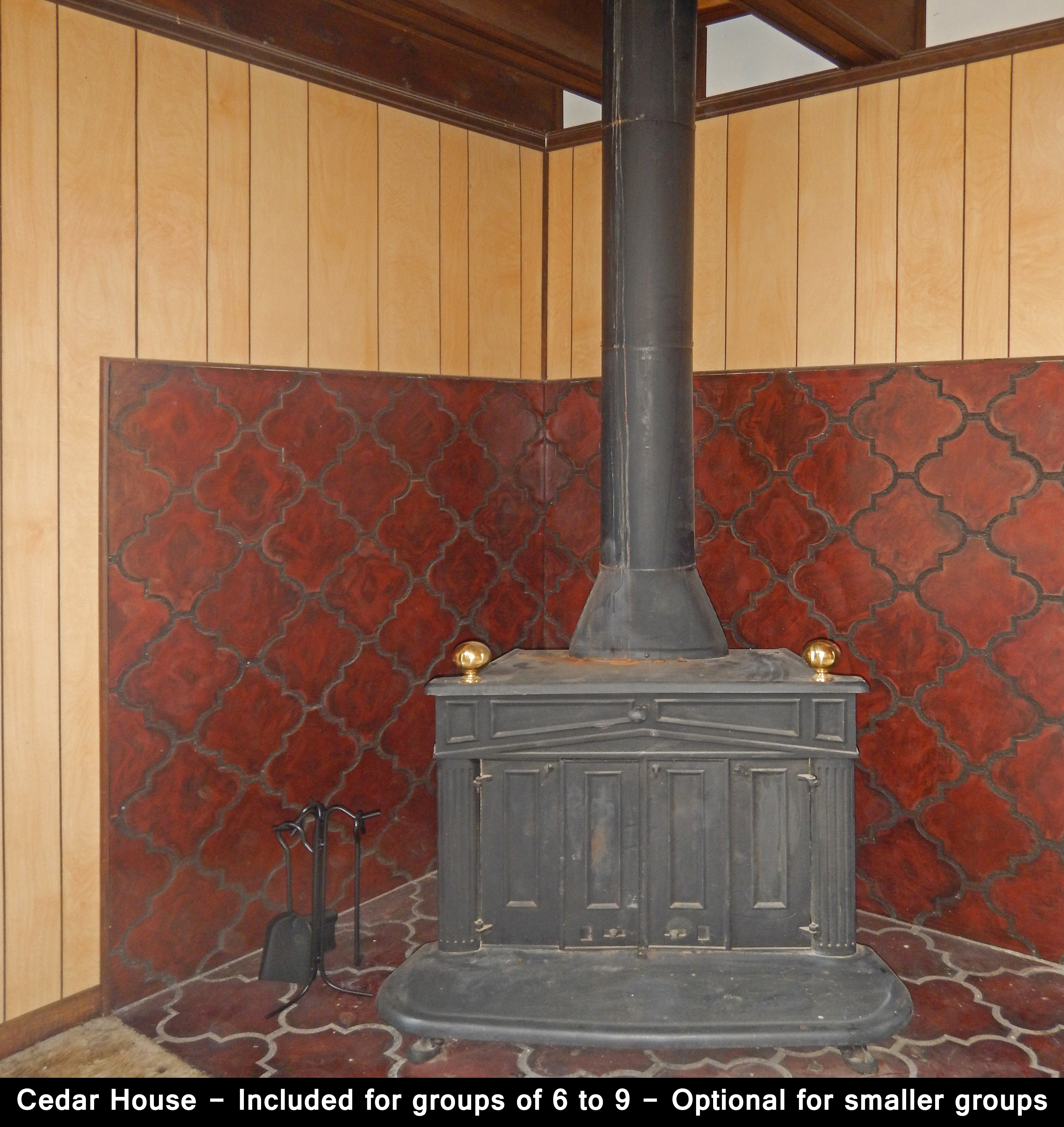 Cedar House - 1BR Stove
